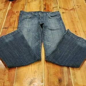Citizens of Humanity jeans, low waist, full leg 30